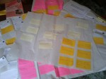 Workshop Post-it-notes